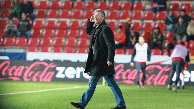 Trenér Sparty Jozef Chovanec.