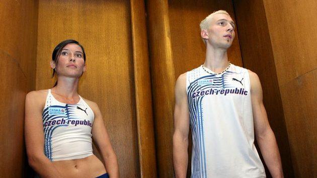 Atleti Jitka Bartoničková a Josef Prokop