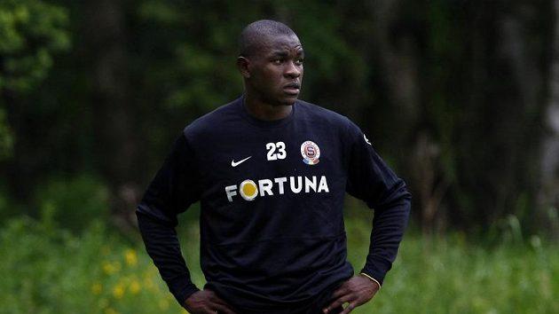 Bondoa Adiaba na soustředění fotbalistů Sparty