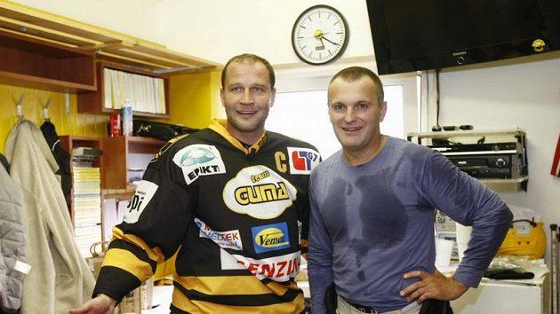 Jiří Šlégr (vlevo) a Robert Reichel