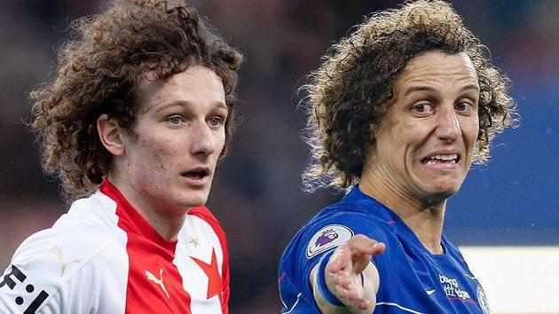 Alex Král a David Luiz