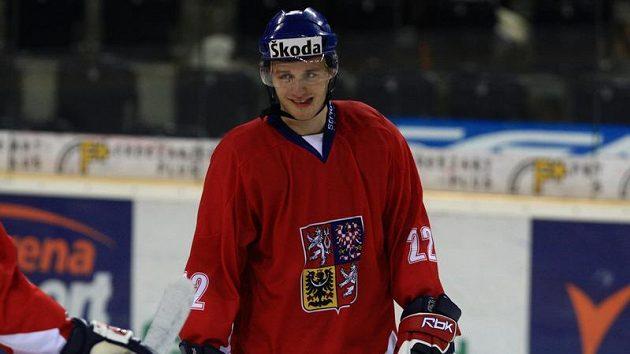 Obránce hokejové dvacítky Jakub Kania
