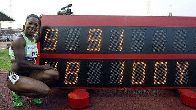 Jamajská sprinterka Campbell-Brownová na Zlaté tretře v Ostravě