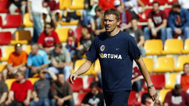 První trenér Sparty Martin Hašek.