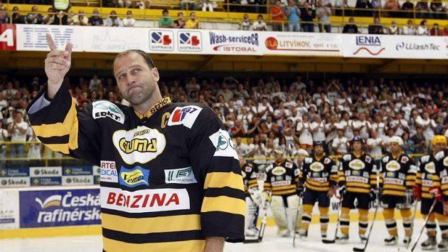 Jiří Šlégr se loučí s hokejovou kariérou