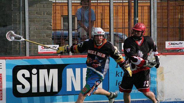 Memoriál Aleše Hřebeského 2009, finále, Megamen Boston–SK Lacrosse Jižní Město