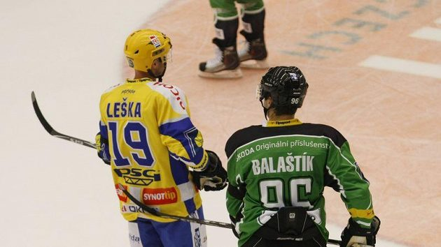 Petr Leška (vlevo) a Jaroslav Balaštík