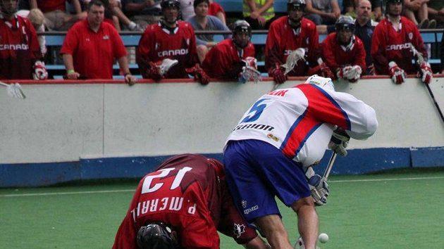 ČR - Kanada, přípravný zápas před MS