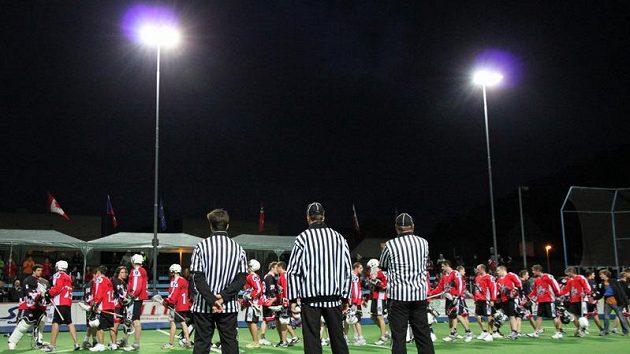 Finále Národní boxlakorosové ligy, LC Custodes Radotín–SK Lacrosse Jižní Město, zápas 1
