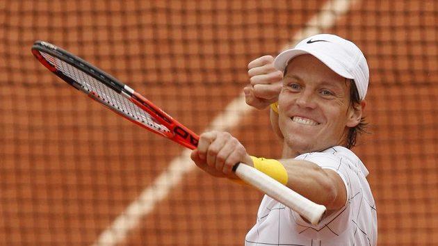 Tomáš Berdych po postupu do semifinále French Open
