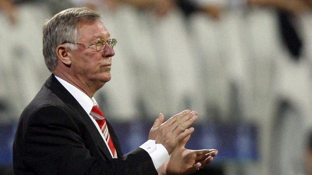 Spokojený trenér Manchesteru United Alex Ferguson