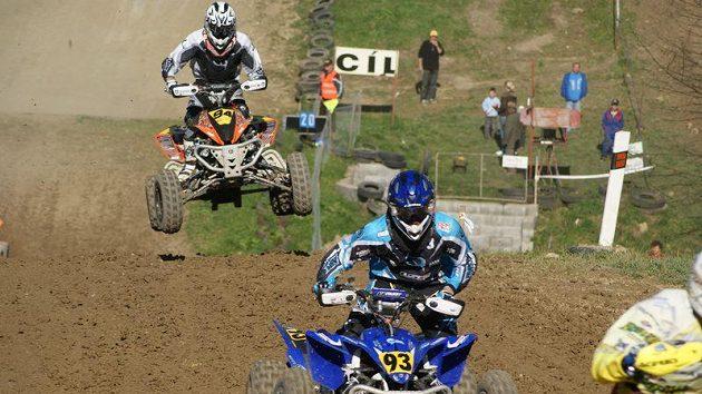 Závod MČR v quadcrossu v Březové