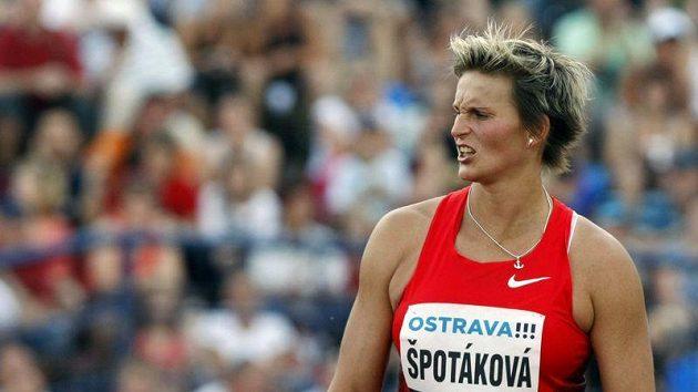 Barbora Špotáková na Zlaté tretře v Ostravě