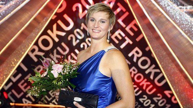 Oštěpařka Barbora Špotáková vyhrálá popáté v řadě Atleta roku.