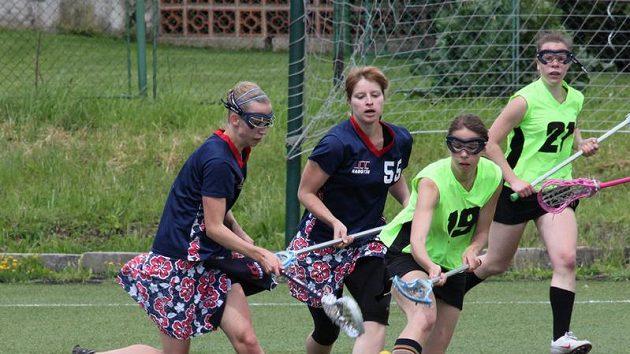 Národní liga ženského lakrosu, finále 1, LCC Girlz – FTVS Retro Teen