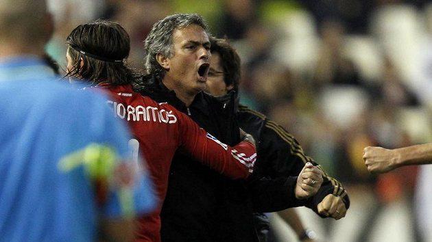 Mourinhova oslava