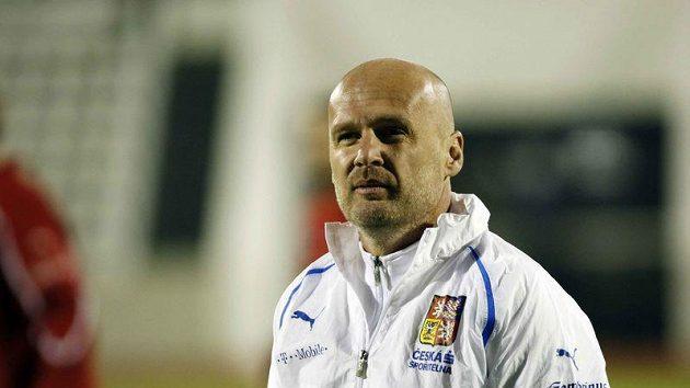 Trenér národního týmu Michal Bílek.