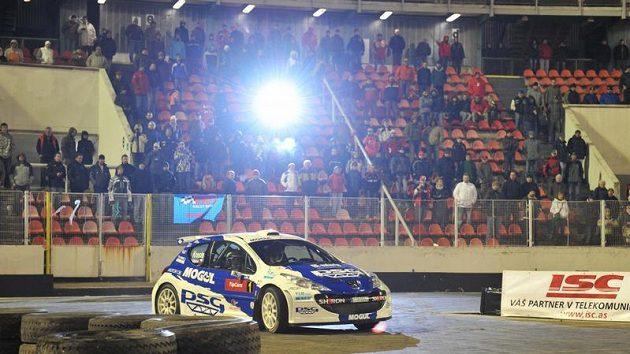 Roman Kresta na rallyesprintu