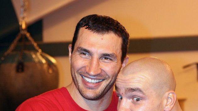 Vladimir Kličko a Ondřej Pála
