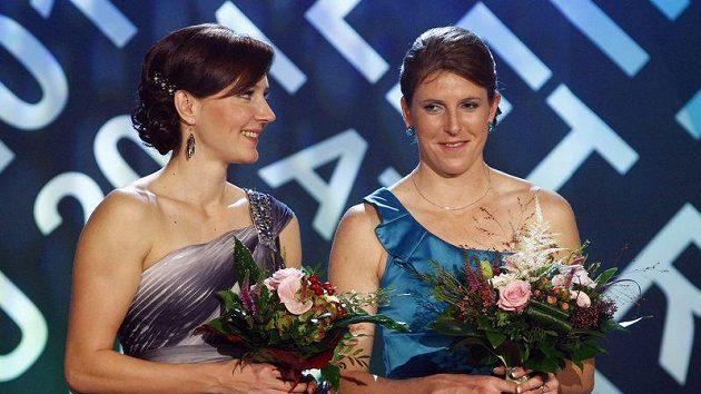 Denisa Rosolová a Zuzana Hejnová.