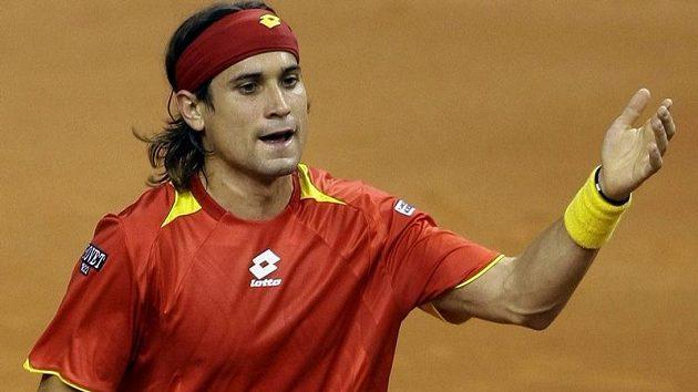 Španělský tenista David Ferrer