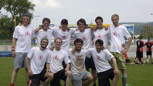 Vítězný tým Terrible Monkeys.