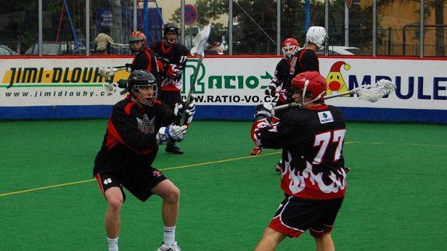 Memoriál Aleše Hřebeského 2009, Turku Titans–SK Lacrosse Jižní Město