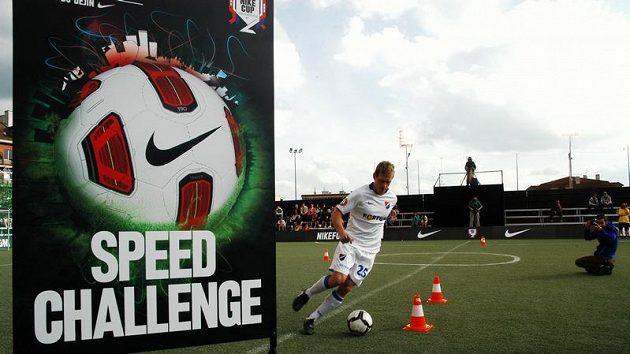 Součástí Nike City Cupu byla také rychlostní soutěž Speed Chalenge, jejíž tváří je portugalská hvězda Cristiano Ronaldo.