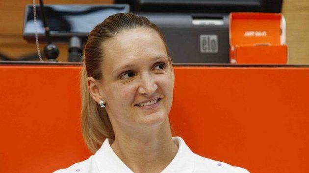 Basketbalistka Petra Kulichová