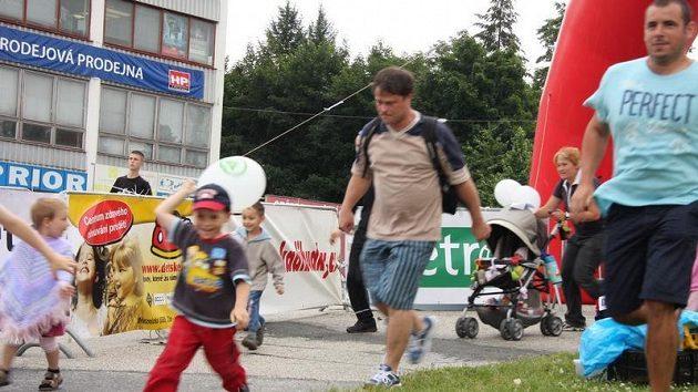 Závody Run-Up ve Zlíně