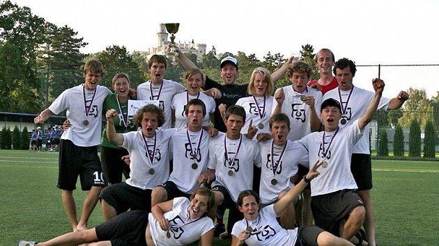 Pražský tým FUJ - mistr republiky v kategorii mix pro rok 2011.