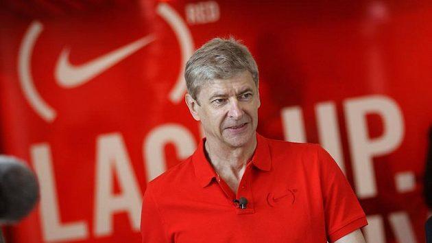 Arséne Wenger, kouč Arsenalu.