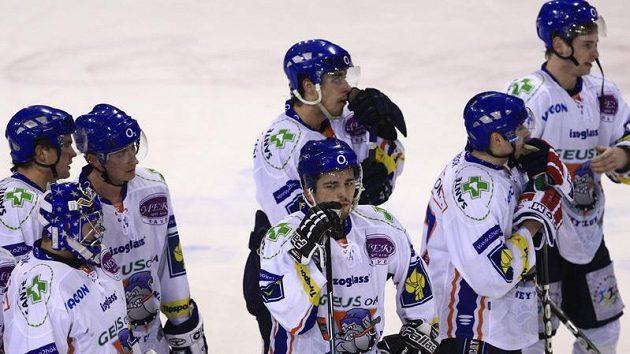 Zklamaní hokejisté Kladna
