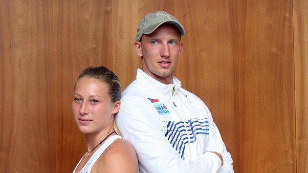 Atleti Jiřina Ptáčníková a Petr Svoboda