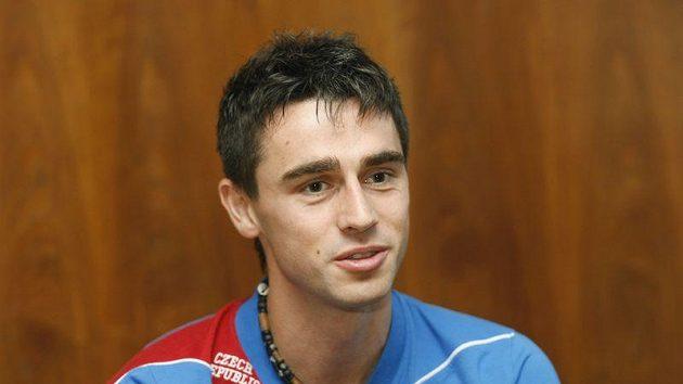 Kamil Vacek na reprezentačním srazu