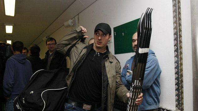 Aleš Kotalík na srazu hokejové reprezentace