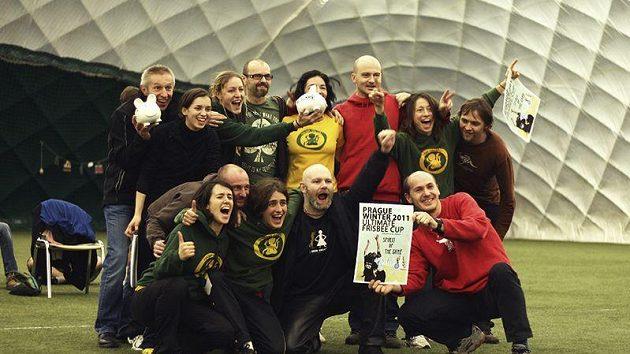 Cenu za fair play získaly Italky Frasba dal Lac a tým českým masters Tios.