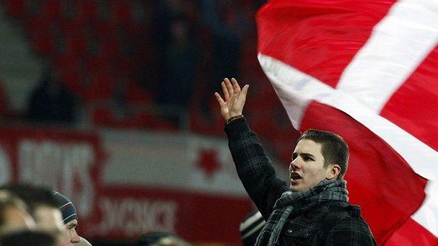 Fanoušci Slavie se výhry svého týmu nad Brnem nedočkali.
