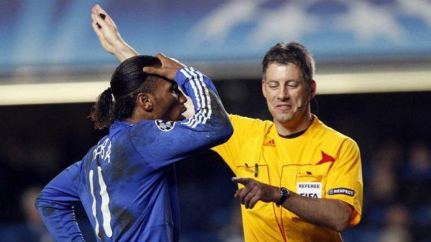 Didier Drogba se diví výroku rozhodčího