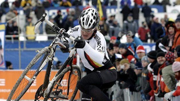 Německá cyklokrosařka Hanka Kupfernagelová