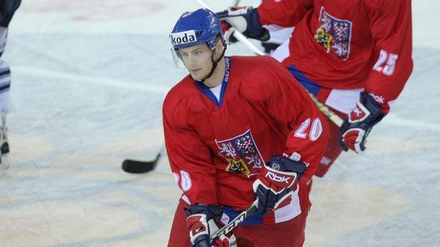Útočník hokejové dvacítky Jan Stránský
