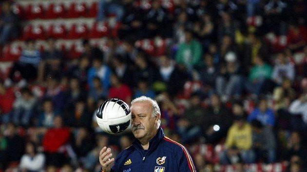 Trenér španělských fotbalistů Vicente Del Bosque