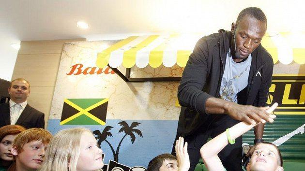 Běžec Usain Bolt