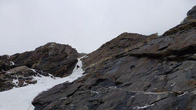 Vážné lezení v jižní stěně Nanga Parbatu.