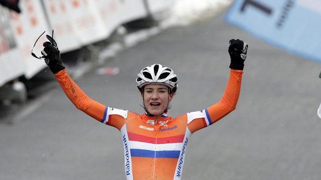 Vítězná Nizozemka Marianne Vosová