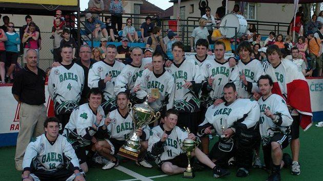 Vítěz Memoriálu Aleše Hřebeského 2010 – Green Gaels