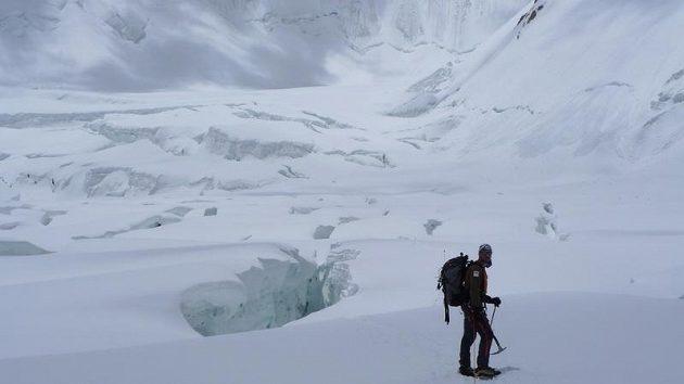 Na ledovci pod Gasherbrumem II.
