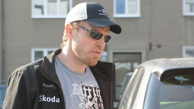 Martin Škoula dorazil na sraz české hokejové reprezentace.