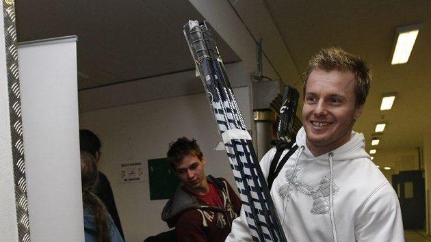 Martin Adamský na srazu hokejové reprezentace