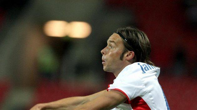Marek Jankulovski v utkání proti Severnímu Irsku